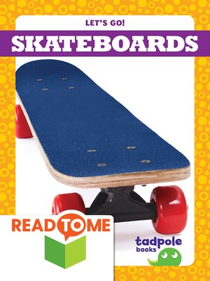 cover image of Skateboards (Readalong Edition)