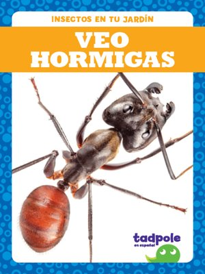 cover image of Veo hormigas (I See Ants)