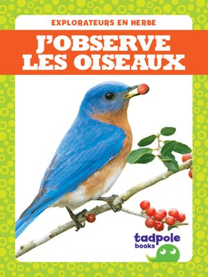 cover image of J'observe les oiseaux (I See Birds)