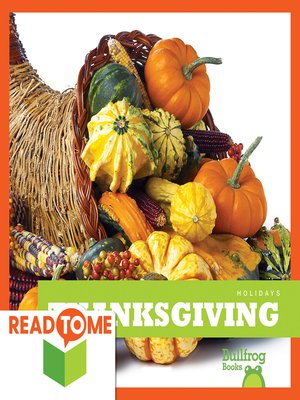 cover image of Thanksgiving (Readalong Edition)