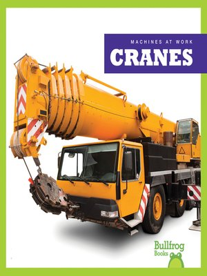 cover image of Cranes