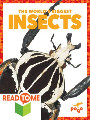 cover image of The World's Biggest Insects (Readalong Edition)