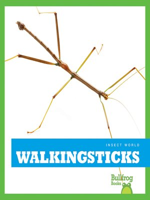 cover image of Walkingsticks