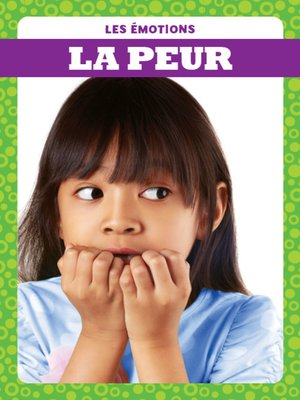 cover image of La peur (Afraid)