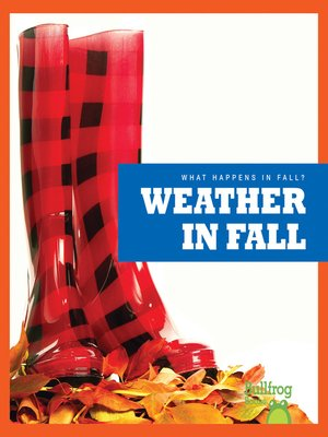 cover image of Weather in Fall