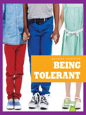 cover image of Being Tolerant
