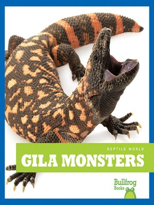 cover image of Gila Monsters