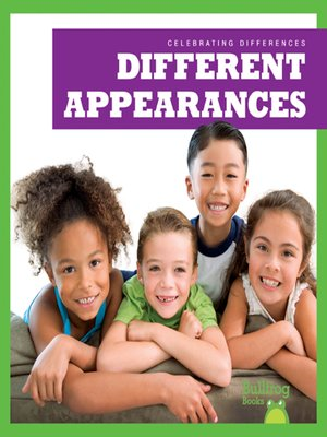 cover image of Different Appearances