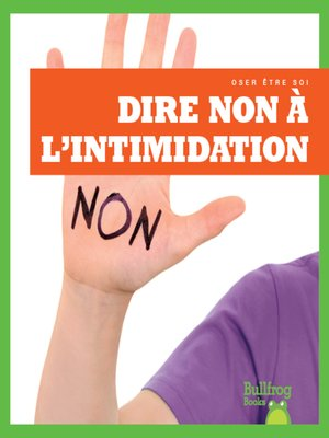 cover image of Dire non à l'intimidation (Resisting Bullying)