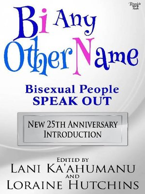cover image of Bi Any Other Name