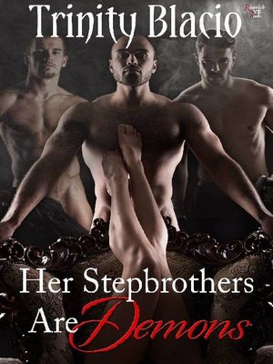 cover image of Her Stepbrothers are Demons