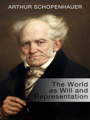 cover image of The World as Will and Representation