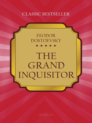 cover image of The Grand Inquisitor