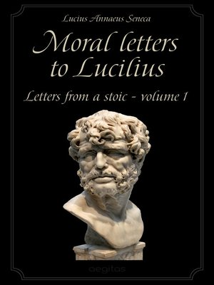 cover image of Moral letters to Lucilius