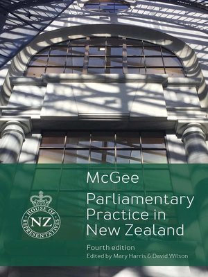 cover image of Parliamentary Practice in New Zealand