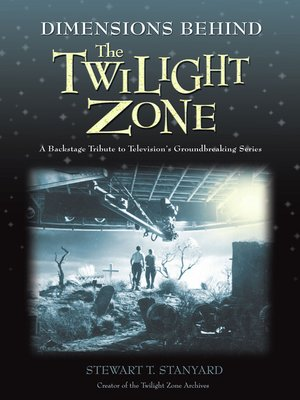 cover image of Dimensions Behind the Twilight Zone