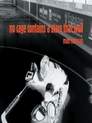 cover image of no cage contains a stare that well