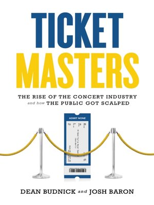 cover image of Ticket Masters