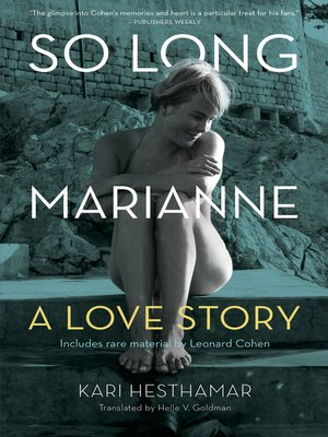 cover image of So Long, Marianne