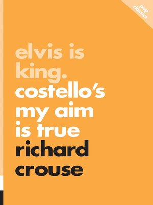 cover image of Elvis Is King