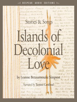 cover image of Islands of Decolonial Love