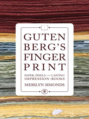 cover image of Gutenberg's Fingerprint