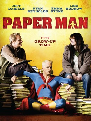 cover image of Paper Man
