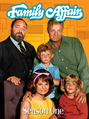 cover image of Family Affair, Season 1, Episode 1