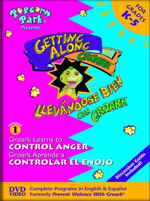 cover image of Groark Learns to Control Anger