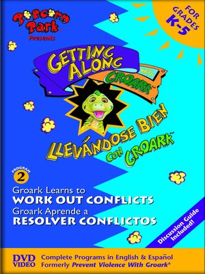 cover image of Groark Learns to Work Out Conflicts