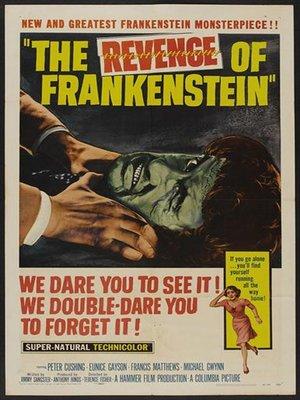 cover image of The Revenge Of Frankenstein