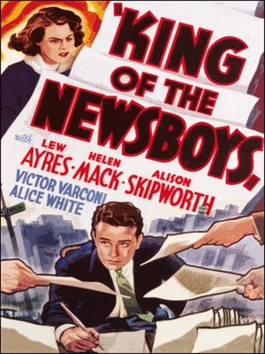 cover image of King of The Newsboys