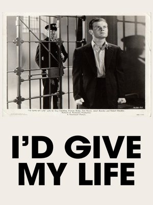cover image of I'd Give My Life