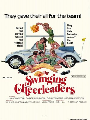 cover image of The Swinging Cheerleaders