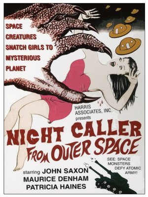 cover image of Night Caller From Outer Space