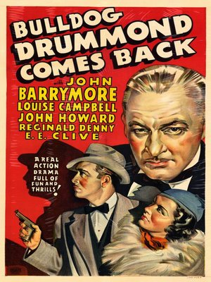 cover image of Bulldog Drummond Comes Back