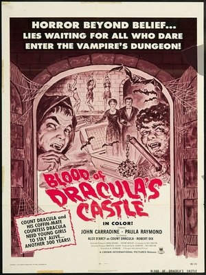cover image of Blood of Dracula's Castle