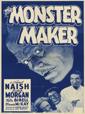 cover image of The Monster Maker