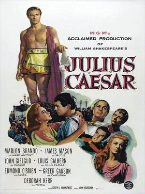 cover image of Julius Caesar (1953)