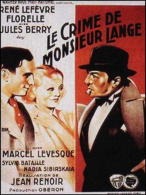 cover image of Le Crime de Monsieur Lange