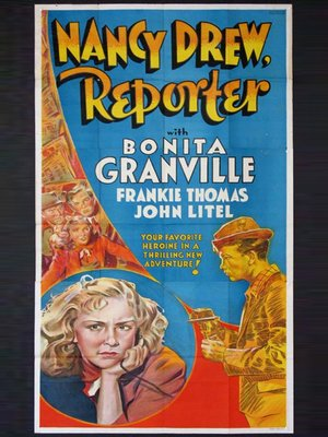 cover image of Nancy Drew...Reporter
