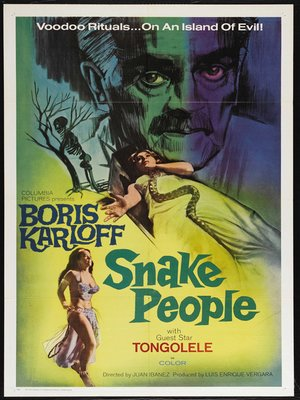 cover image of The Snake People aka Isle of the Snake People