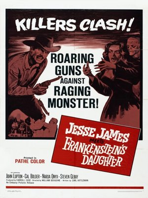 cover image of Jesse James Meets Frankenstein's Daughter