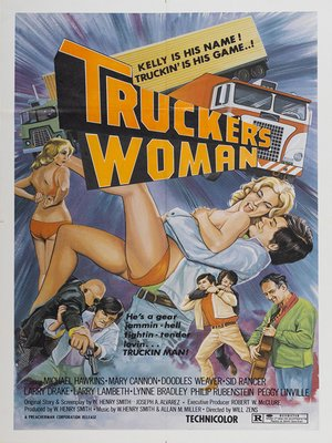 cover image of Trucker's Woman