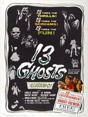 cover image of 13 Ghosts