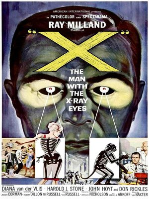 cover image of X: The Man With The X-Ray Eyes