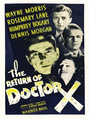 cover image of The Return of Doctor X
