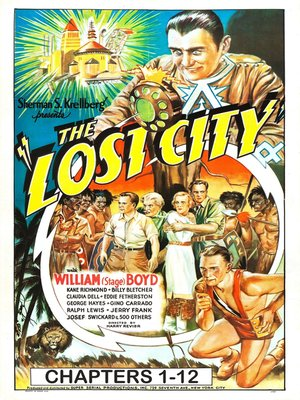 cover image of Lost City, Chapters 1-12