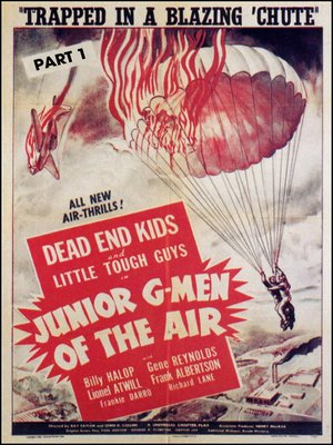 cover image of Junior G-Men of The Air, Part 1