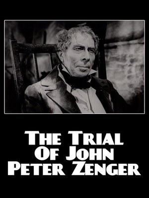 cover image of The Trial of John Peter Zenger